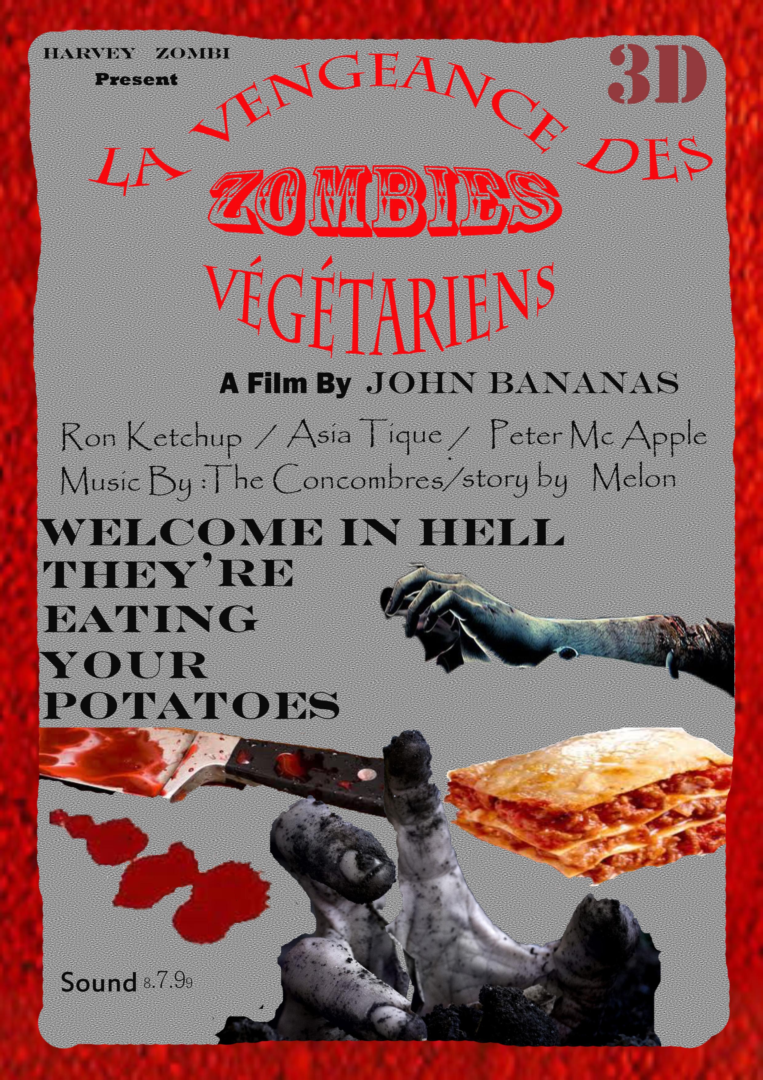 Hervé Sliwinski - zombies eat