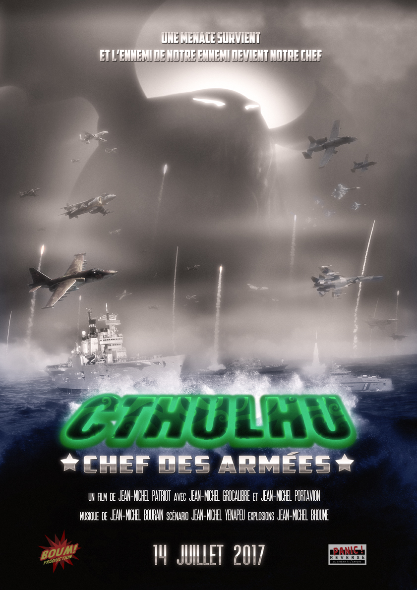 Romain Revert - Cthulhu chef des armées