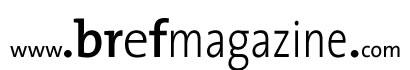 bref magazine logo