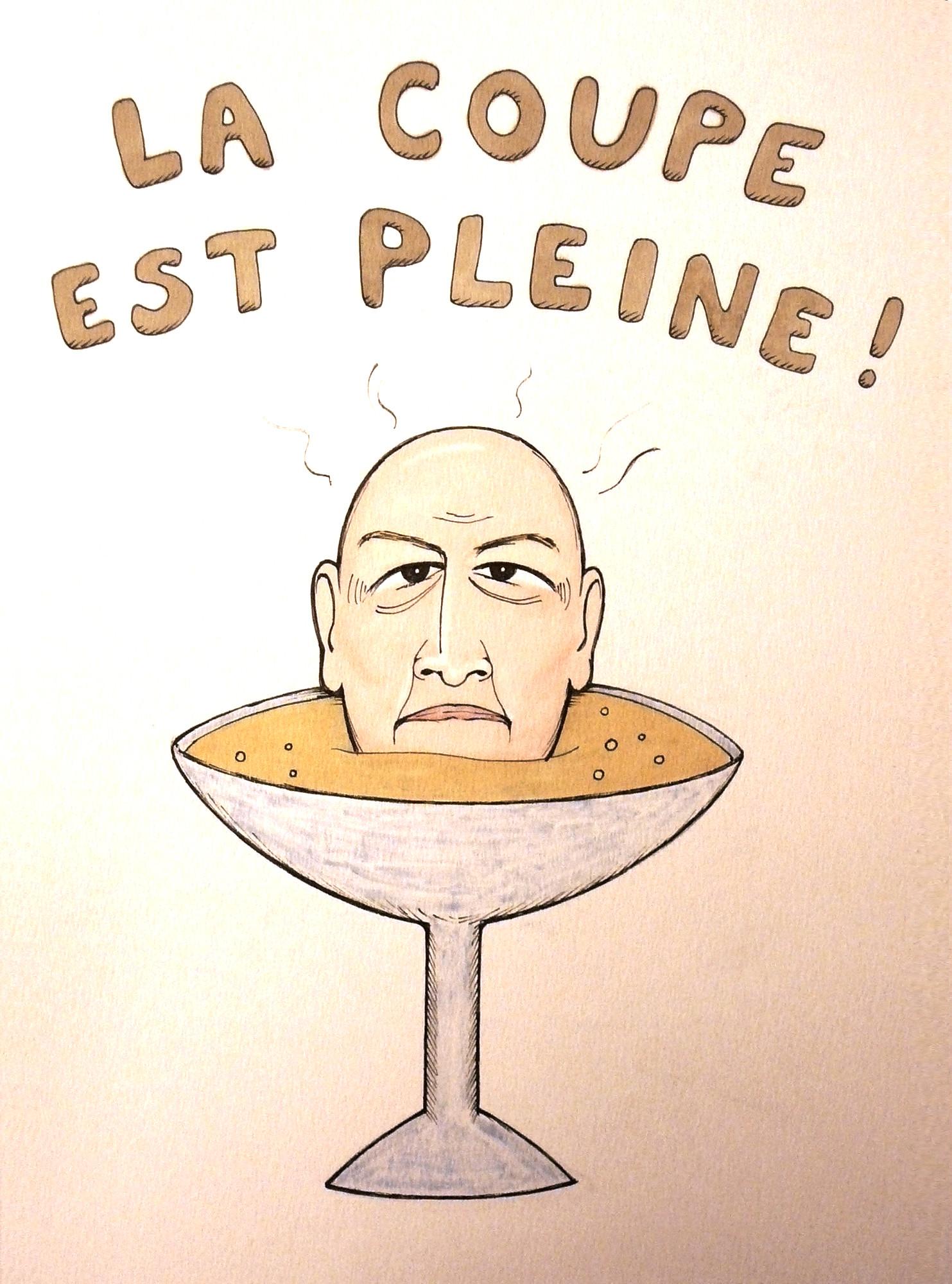 La Coupe est Pleine - Xavier Bonastre