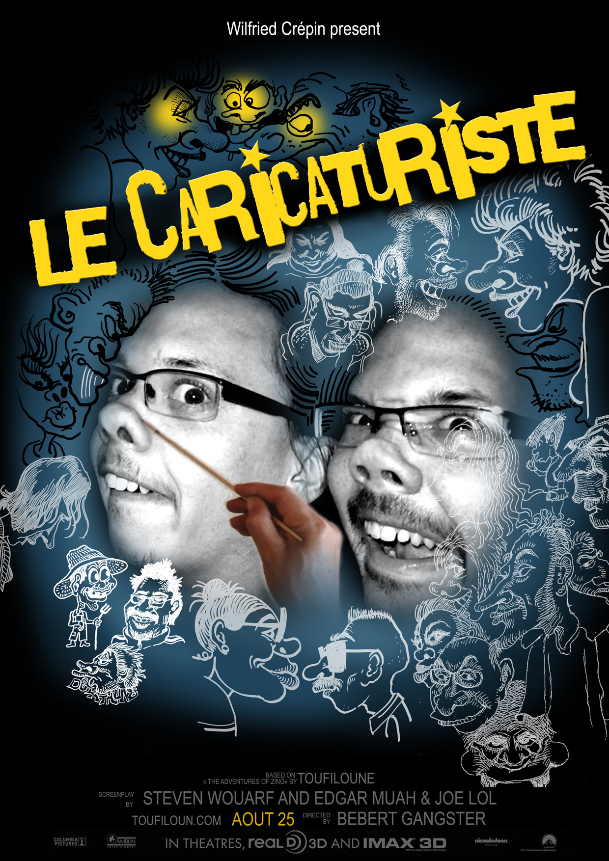 Le caricaturiste - Marc Ingrand