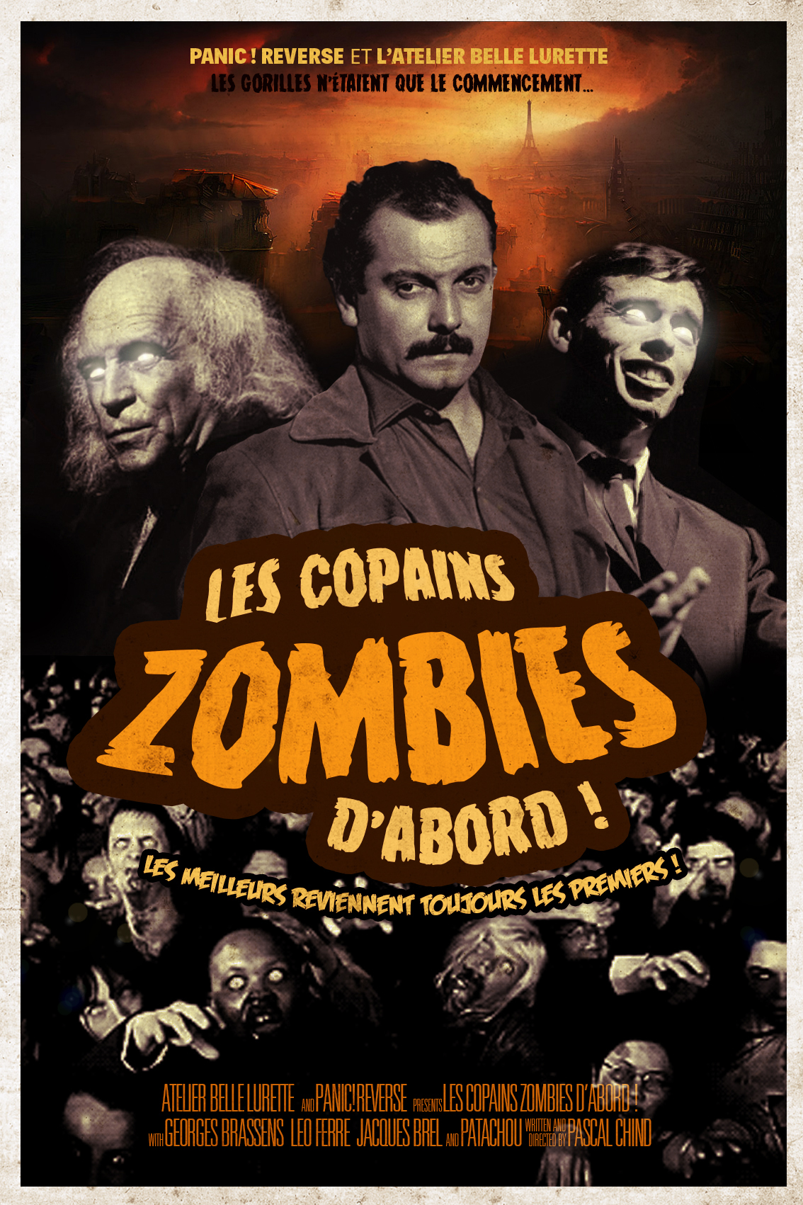 Les Copains Zombies d'abord - Atelier Bellelurette