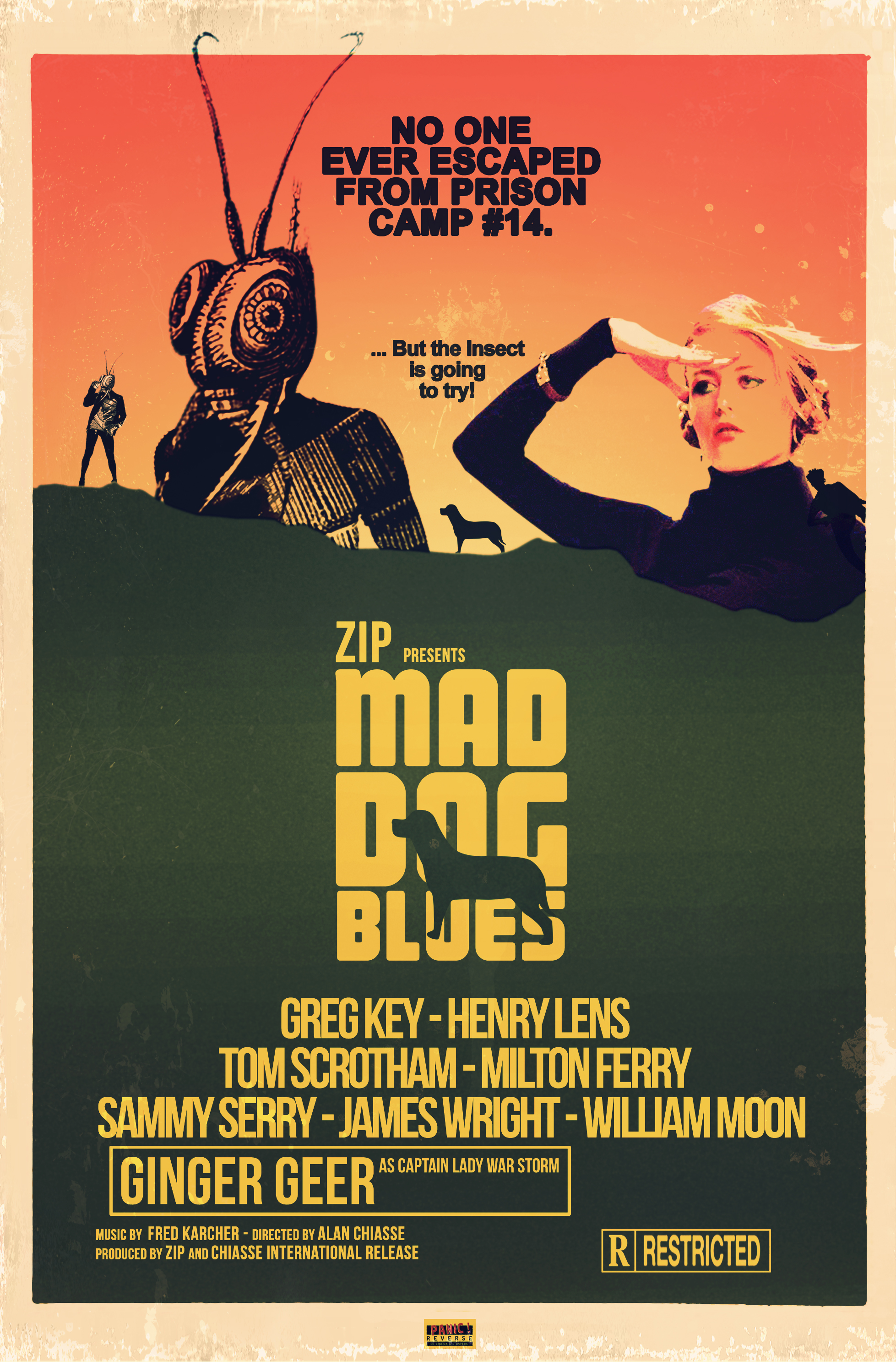 Man Dog Blues - Alban GILY