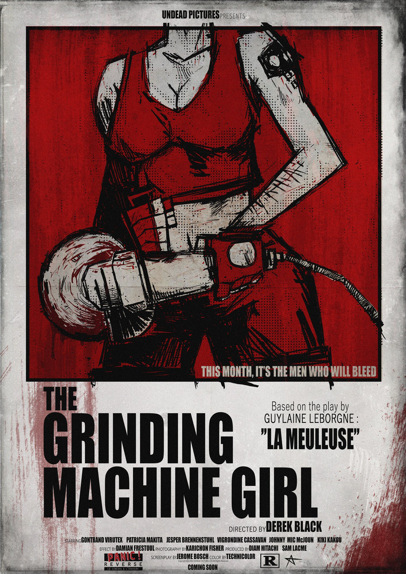 The Grinding Machine Girl - Brains